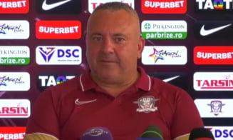 """""""A fost penibil!"""" Antrenorul Rapidului și-a pus la zid jucătorii după eșecul cu Voluntari. Ce măsuri va lua tehnicianul"""