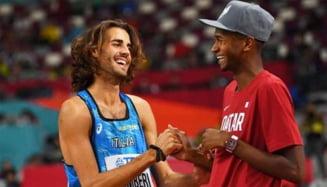 """""""Nu putem să luăm amândoi aurul?"""" Momente unice la Jocurile Olimpice: doi sportivi au bătut palma pentru locul unu VIDEO"""