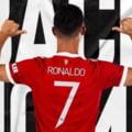 """""""Parcă n-ar fi plecat niciodată"""". Imagini cu Cristiano Ronaldo la primul antrenament pentru Manchester United VIDEO"""