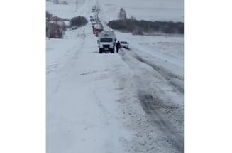 Țara unde iarna deja s-a instalat: stratul de zăpadă depășește 10 centimetri VIDEO