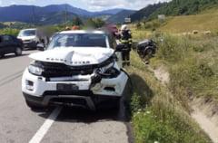 Şase persoane implicate într-un accident rutier produs pe DN 17, la ieşirea din Câmpulung Moldovenesc