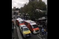 Șase răniți, după ce o mașină a intrat într-o terasă aglomerată, în Franța VIDEO