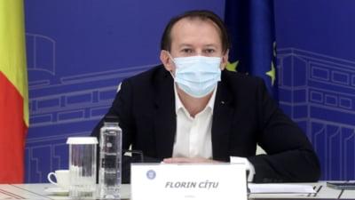 """Ședință de urgență la Guvern. Cîțu: """"Nu mai stați în birouri, mergeți să vorbiți cu directorii de spitale și ajutați-i"""" VIDEO"""