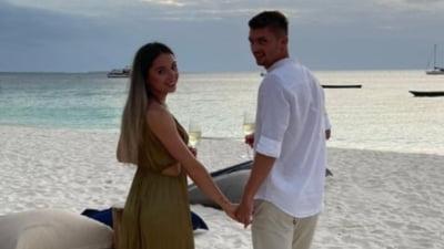 Încă o nuntă de 5 stele în sportul românesc. Un fotbalist de națională se însoară cu nepoata unui jurnalist celebru