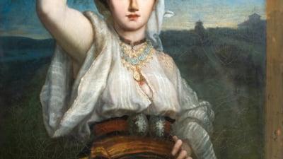 """""""Actori de pus in rama"""": Artistii de la Nottara """"interpreteaza"""" lucrari din patrimoniul Muzeului de Arta"""