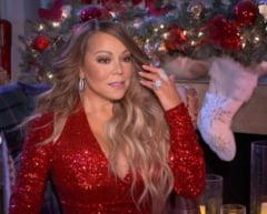 """All I Want for Christmas Is You"" a cantaretei Mariah Carey, lansata in urma cu 26 de ani, a revenit in fruntea topurilor americane"
