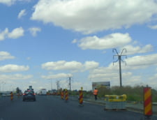 """Autostrada blestemata"" Sibiu - Orastie are iar probleme. Au aparut fisuri, crapaturi si denivelari, iar traficul a fost restrictionat"