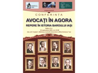 """Avocati in Agora. Repere in istoria Baroului Iasi"""