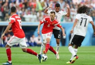 Cupa Mondiala 2018: Egipt face plangere la FIFA dupa meciul cu Rusia