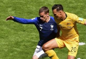Cupa Mondiala 2018: Franta castiga cu emotii meciul cu Australia