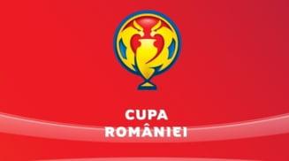 Cupa Romaniei: S-au stabilit meciurile din semifinale
