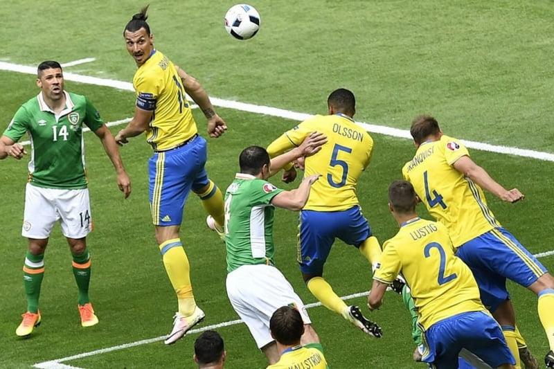 EURO 2016: Irlanda si Suedia remizeaza dupa un meci aprig disputat