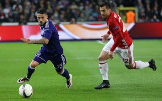 Europa League: Manchester United invinge Anderlercht si merge in semifinale. Stanciu si Chipciu au jucat pe Old Trafford