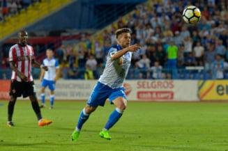 Liga 1: CSU Craiova castiga la Timisoara si urca in clasament. Incidente la vestiare