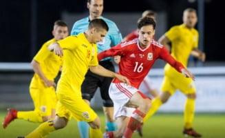 Preliminarii Campionatul European U21: Nationala de tineret remizeaza in Tara Galilor in noua oameni