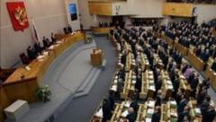 "Razboi la granita cu Romania: Parlamentul rus va respecta ""alegerea istorica"" a Crimeii la referendum"