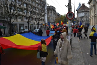 """Basarabia e Romania"" - Marsul pentru Unire, in imagini (Galerie foto)"