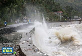 """""""Bestia"""" va lovi Filipine cu pana la 265 km/h. Mii de oameni evacuati din calea taifunului"""