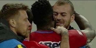 """Bizonul"" Gnohere i-a transmis un mesaj lui Alibec dupa ce i-a luat locul in echipa de start de la FCSB"
