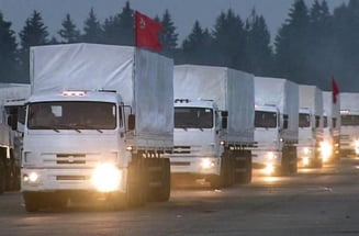 """Camioanele umanitare"" s-au intors in Rusia. ONU n-a ajuns macar la o declaratie comuna (Video)"