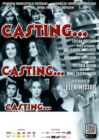 """""""Casting"""" pe scena Casei Tineretului, in acest weekend"""