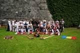 """""""Cavalerii Cetatii Rosii"""" din Sibiu la Festivalul International """"Crana Historica"""" din Kronach, Germania"""