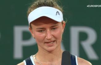 """De acolo, de sus, se uita la mine"". Finalista de la Roland Garros a emotionat pe toata lumea"