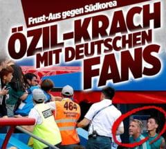 """""""Decarul"""" Germaniei, scandal cu fanii imediat dupa eliminarea de la Cupa Mondiala"""