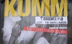 """Far from Telescopes"", albumul celor de la Kumm, ajunge azi si in Buzau"