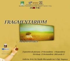 """""""Fragmente"""" umane surprinse in pictura, in expozitie la Galeria Arte"""