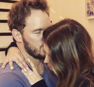 """""""Gardianul"""" Chris Pratt anunta ca s-a logodit cu fiica lui Arnold Schwarzenegger (Foto)"""