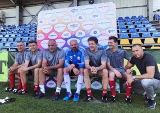 """""""Generatia de Aur"""" s-a reunit pentru meciul contra """"Legendelor Barcelonei"""""""