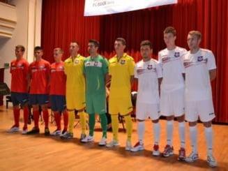 """Generatia urmatoare"" a FC Bihor a prezentat noul echipament de joc la Filarmonica"