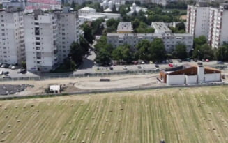 """""""Iazul Morilor"""", filmat cu drona. Proiectul va fi terminat in septembrie, promit autoritatile VIDEO"""