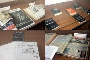 """""""In memoriam Adrian Paunescu"""" - expozitie de carti si periodice"""