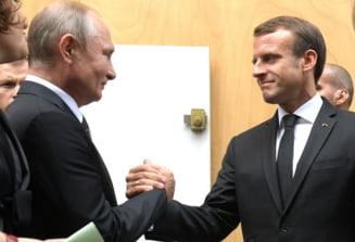 """Intalnire"" prin videoconferinta intre Emmanuel Macron si Vladimir Putin. Tema discutiei: ""dialogul strategic"" dintre Franta si Rusia"