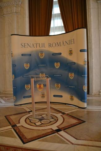 """Intre secera lui Daniel Constantin si ciocanul lui Victor Ponta!"" - motiune in Senat"
