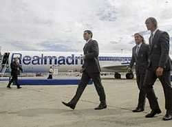 """""""La Saeta"""", avionul Real Madridului, prezentat oficial"""