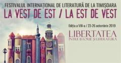 """""""Libertatea: Intre istorie si literatura"""" , la Festivalul International de Literatura de la Timisoara. Adam Michnik si Evgheni Vodolazkin, printre invitati"""