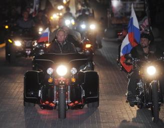 """""""Lupii Noptii"""" nu sunt deloc niste oi blande - Gasca preferata a lui Putin, o masinarie de ucis"""