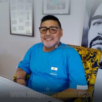 """""""Maradona a avut momente de confunzie dupa operatie"""". Cum se simte fostul fotbalist"""
