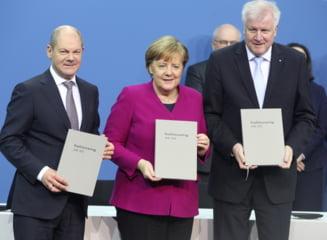 """""""Marea coalitie"""" de la Berlin este gata: Germania a pus capat blocajului politic care a durat sase luni"""