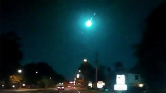"""""""Minge de foc"""" cazuta in Florida: A zburat spre Pamant cu o viteza de peste 30.000 de kilometri pe ora VIDEO"""