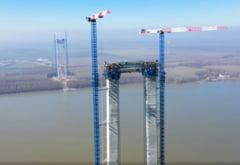 """""""Minune"""" birocratica la podul suspendat peste Dunare. """"Am facut astazi un pas mare pentru evitarea scenariului negativ"""""""