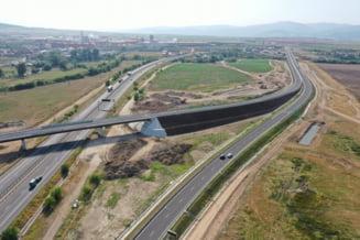 """Miracol"" reușit în infrastructura românească: nodul rutier Sebeș de pe autostrada A10 a fost deschis integral"