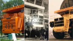 """""""Monstrii"""" lui Ceausescu: Camioanele imense exportate in Australia"""
