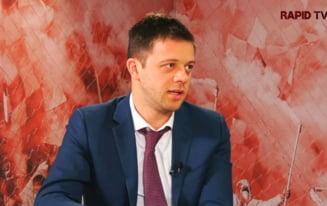 """""""N-am banii lui Copos sau Becali"""". Cine este Victor Angelescu, patronul care a dus Rapidul in Liga I"""