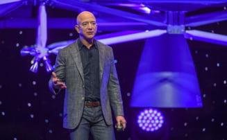 """Nu-i permiteti lui Jeff Bezos sa revina pe Pamant"". Peste 76.000 de persoane au semnat o petitia prin care cer ca miliardarul sa ramana in spatiu"