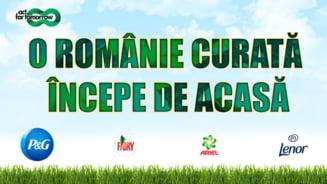 #ORomanieCurataIncepedeAcasa - 2000 de kg de deseuri colectate de peste 460 elevi si voluntari din Buftea, Tunari si Bragadiru