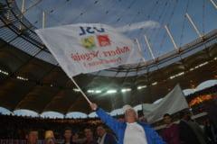 """""""Poporul"""" USL, pe National Arena - mici, bere, discursuri si pa! - Fotoreportaj Ziare.com"""